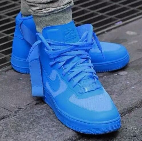 blue air force ones