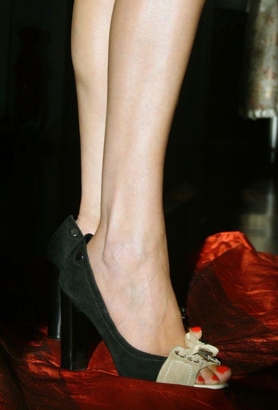 RosaRot - Peep-Toes High Heels #Shoes #Pumps #CharityHeels #Schuhe