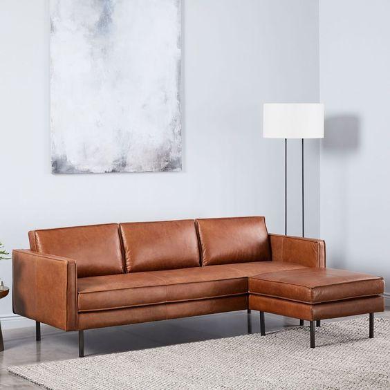 Sofa da thật tphcm cho phòng khách thêm xinh đón tết