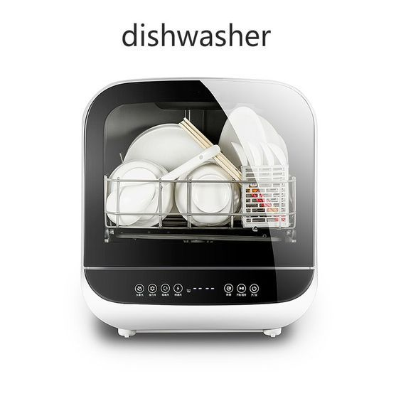 Mini Dishwasher Perfect For Hostels And Rvs Dishwasher Dishwasher Mini Washing Machine Mini Dishwasher