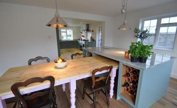 Kitchen design ideas kitchen designs - Designs for kitchen diners open plan ...