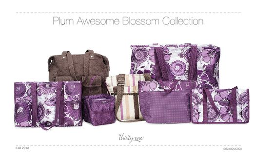 Plum Awesome Blossom Collection!  New Fall Prints!