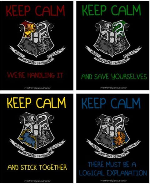 Slytherin...but I think it should mean that all the other houses should try to save themselves from our awesomeness.: