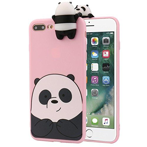 coque iphone 8 panda kawaii