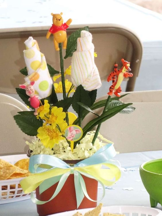 Winnie the Pooh Baby Shower Baby Shower Party Ideas | Photo 5 of 13 | Catch My Party