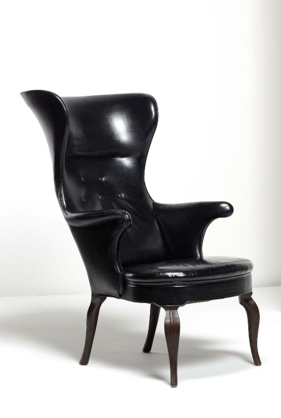 frits henningsen wingback chair ca furniture pinterest wingback chairs