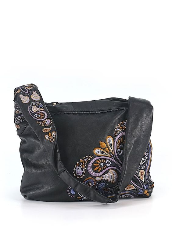 Check it out—Isabella Fiore Leather Shoulder Bag for $144.99 at thredUP!