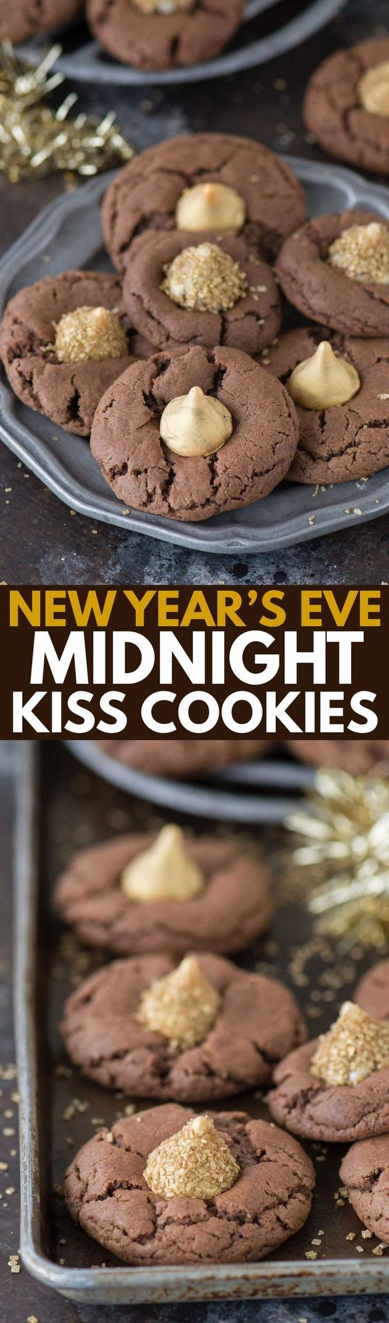 These Midnight Kiss Cookies are the best New Year's Eve cookie ...