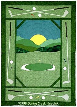 Http Www Thepatternco Com Products Golf Quilt Htm 8