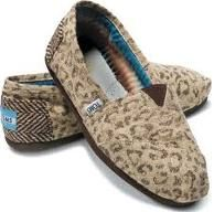 Snow Leopard Toms!  Ever since I found out Hanson supports Toms... I've decided they're worth the price.