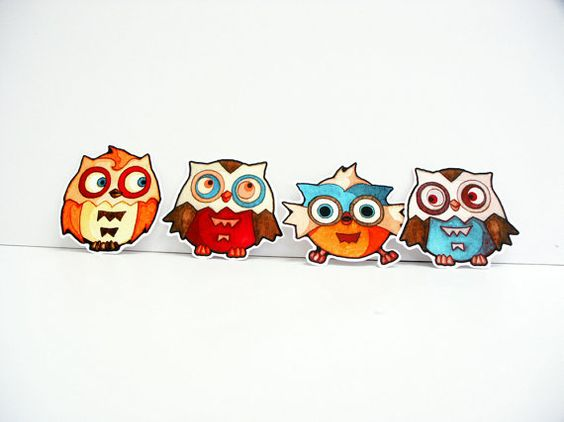 Vinyl Stickers Owl Baby Decals Car Craft iPhone by ApplewoodKnoll, $8.00
