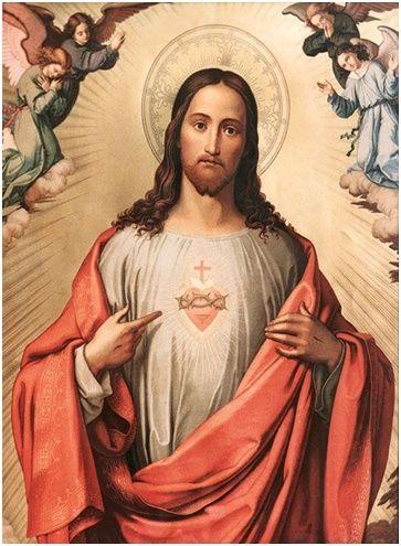 Oración al sagrado corazón de Jesús para pedir ayuda en difíciles problemas