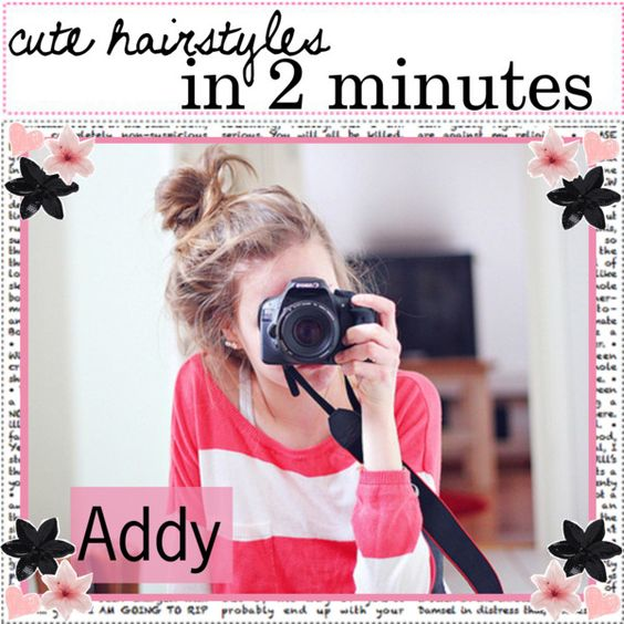 cute hairstyles in 2 minutes