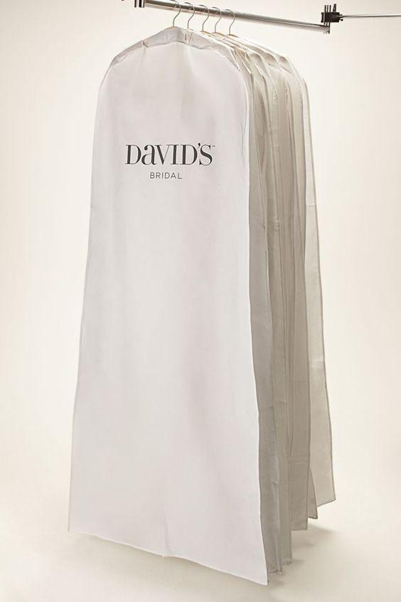 Wedding Dress White Side Zip Garment Bag