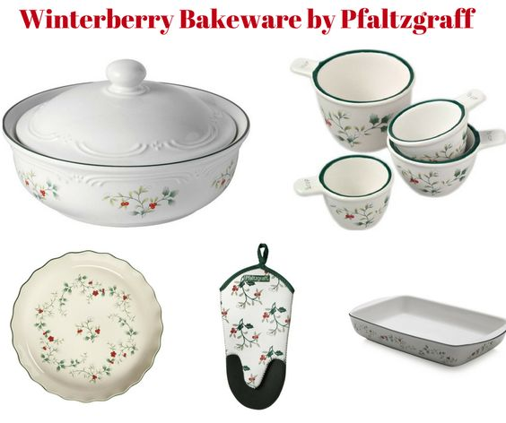 Winterberry Bakeware by Pfaltzgraff