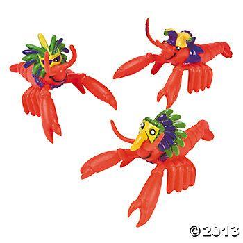 Mardi Gras Crawfish (12 pcs)