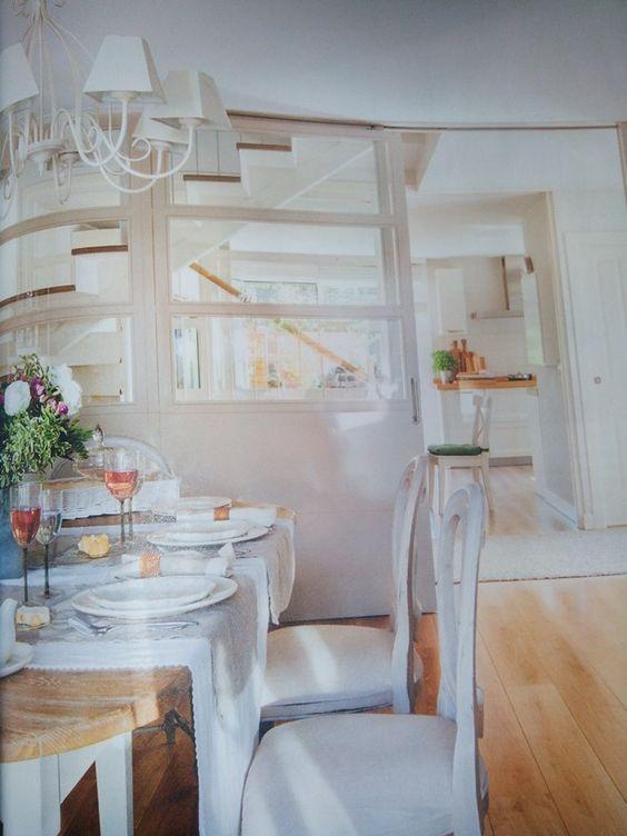 Mampara para separar cocina entrada salon casa pinterest for Separar cocina salon ideas