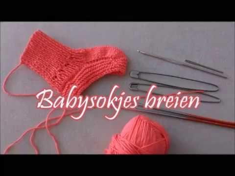 Onwijs Babysokjes breien - Breimeisje.nl - YouTube | Breien, Breien en LQ-31