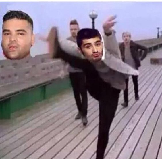 BYE NAUGHTY BOY>>>> Just how fast the night changes!