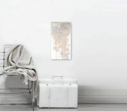 'QUIET STORM' Original Abstract Painting  Contemporary Fine by linneaheideart, $150.00