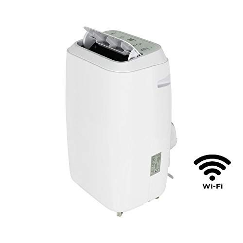 12000 Btu Eco Smart App Wifi Portable Air Conditioner With Heat Pump For Rooms Up To 30 Sqm Portable Air Conditioner Heat Pump Air Conditioner