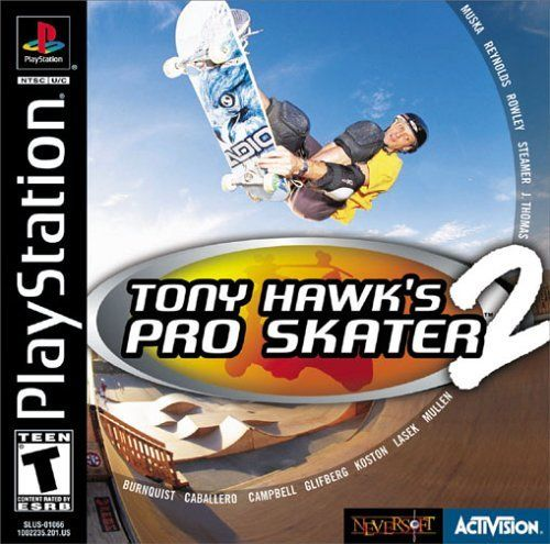 Complete Tony Hawk S Pro Skater 2 Ps1 Game Tony Hawk Pro Skaters Tony Hawk Games