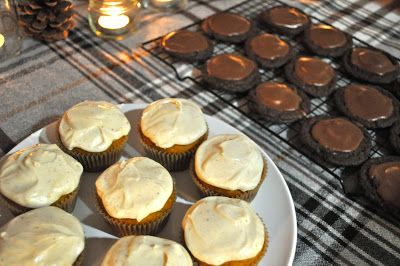 TREATS: chocolate marshmallow cake cookies + spiced pumpkin cuppies [field notes]