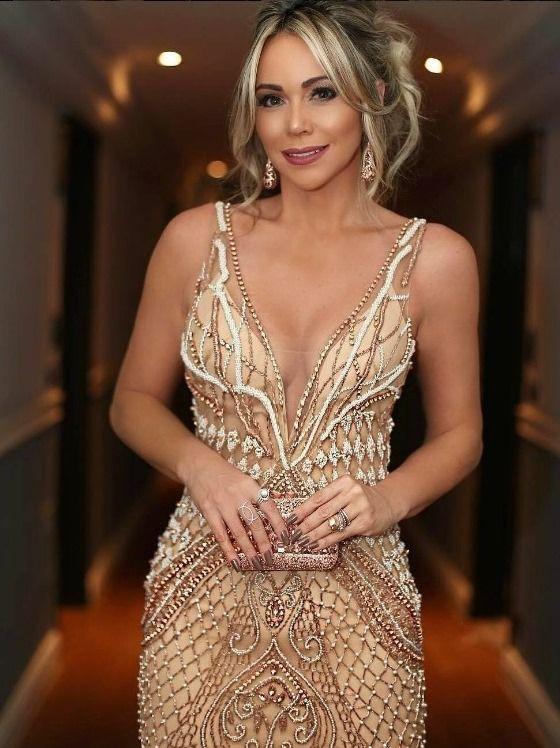 Vestidos de Gala 2020 Dourado