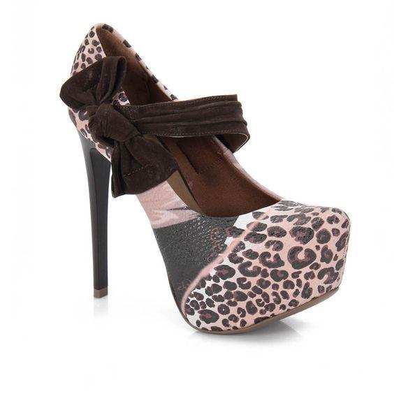 Sapato Feminino Lara Costa 6383019 - Cafe - Passarela Calçados - Calçados online