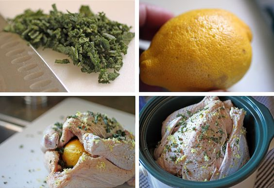 Crock pot lemon chicken. Yummy!