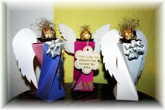 Engel - Geldgeschenke  Schachtel