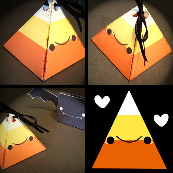 Candy Corn Box by hellohappycrafts