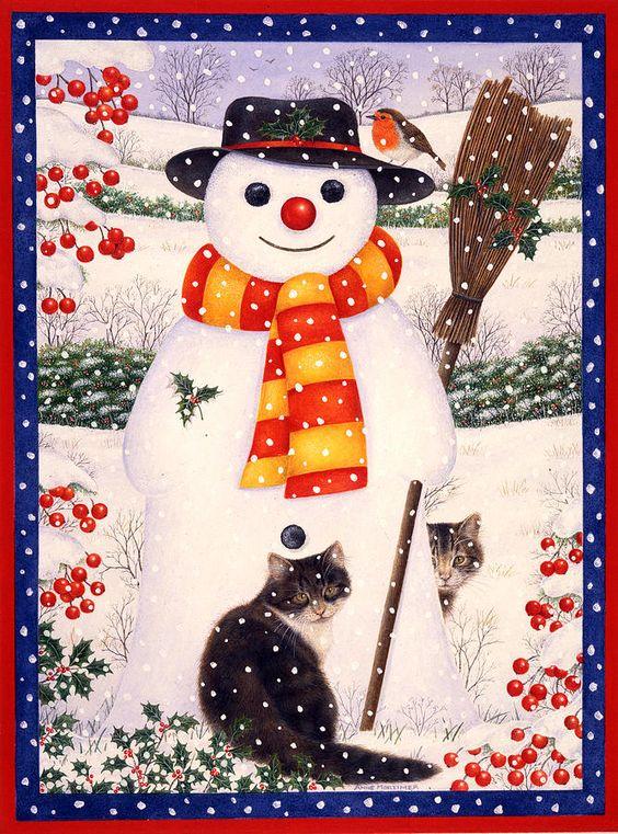 Anne Mortimer —    Snow Friends (667x900):