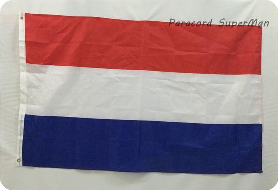 Soccer Nation Flag NETHERLANDS (3ft x 5ft, 150x90cm)