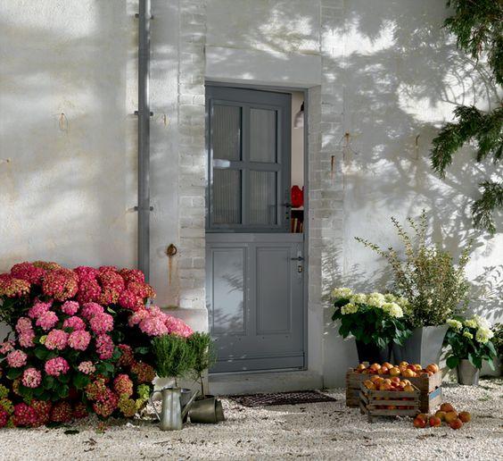 Porte d 39 entr e bois touraine bel 39 m for Porte d entree maison ancienne