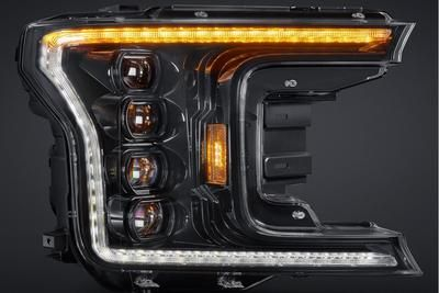 2018 2020 Ford F 150 Xb Led Headlights Quad Beam In 2020 Ford