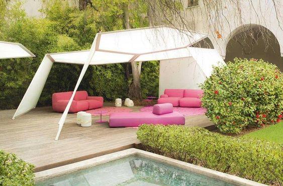 Awesome Gartenpavillon aus Aluminium mit modularem Aufbau raumgewandt Pinterest