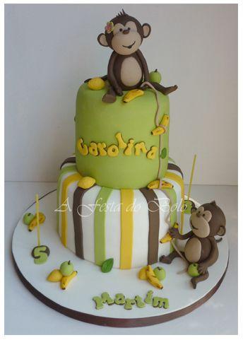 cake that cake sooo cake monkey monkey birthday cakes fondant check ...