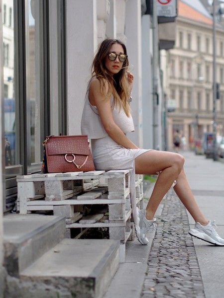 sneakers, Nike Huarache, dress, how to wear, summer, trends, 2015, Personal Shopping, Hello Shopping, Fashionblogger, Berlin