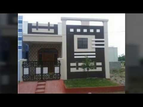 Youtube House Front Design Beautiful Small Homes Small House Elevation