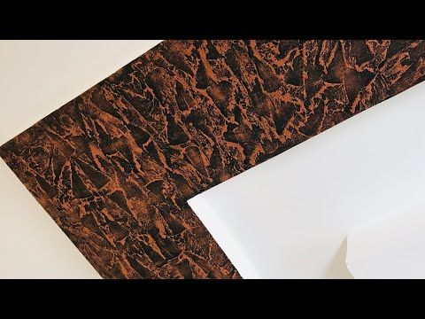 Latest Texture Design Applying Jipsam Cealing Copper Finish Youtube Wall Texture Design Texture Design Interior Wall Painting Designs