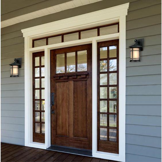 warm glow + rich finish | Westinghouse Lighting Albright Outdoor Wall Lantern
