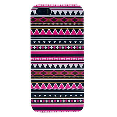 Rich Geometry Pattern Plastic Protective Back Shell for iPhone 5/5S – USD $ 3.99