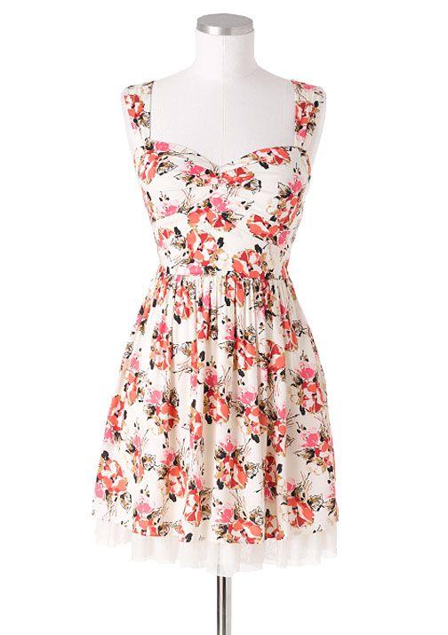 dELiAs > Open Back Floral Dress > clothes > dresses > pattern  dress i bought for paris!