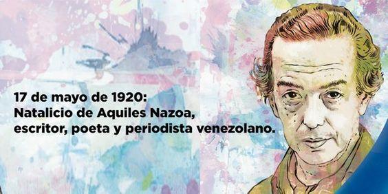 @jaarreaza : RT @vice_social: Natalicio de Aquiles Nazoa humorista y poeta. Quien con sus obras defendió a las clases sociales más necesitadas. https://t.co/fDzX7ILvzZ