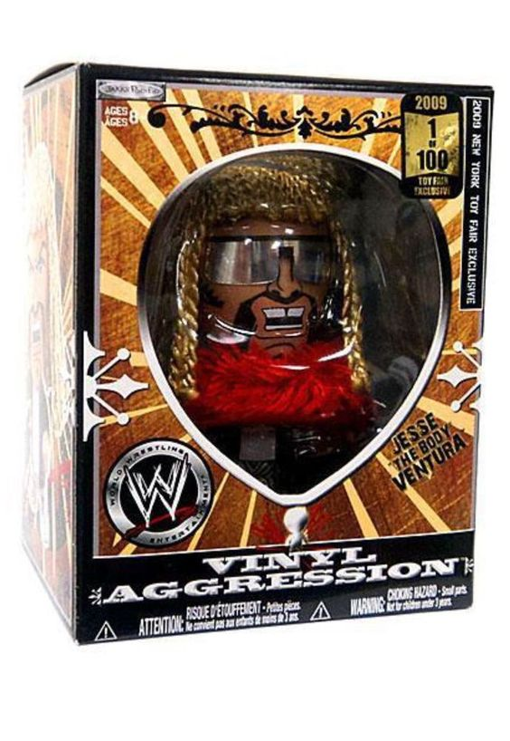 $199.99 WWE Vinyl Aggression Series 5 Jesse The Body Ventura 3in A Vinyl Figure | eBay  Only one for sale one eBay 1 of 100 get it now