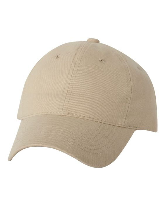 Sportsman - Heavy Brushed Twill Cap - 9610 Khaki