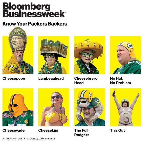 It's good to know who you are. Be part of a family. And take Green Bay Packer football seriously.
