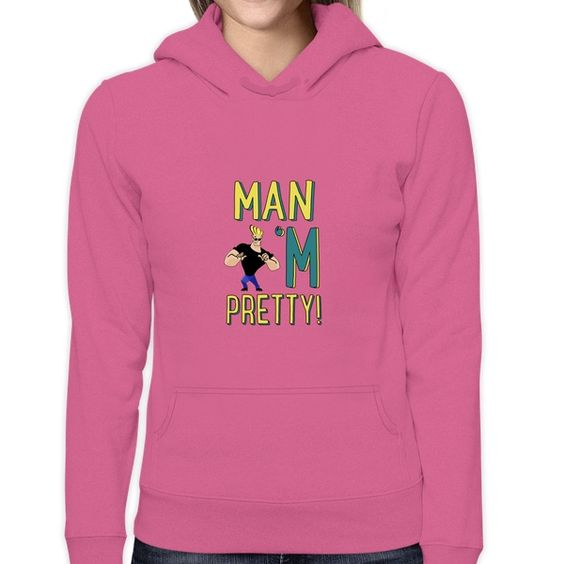 Johnny Bravo (women's hoodie)