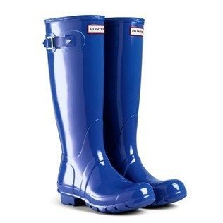 Hunter Rain Boots in Cobalt Blue | splash into some rain boots ...